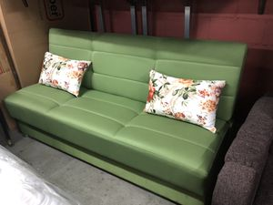 Modern Click Clack Convertable Sofa Bed for Sale for sale  Queens, NY