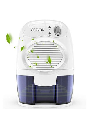 SEAVON Electric Mini Dehumidifier, 1500 Cubic Feet (170 sq ft) Portable and Compact 500ml(16 oz) Capacity Quiet Mini Dehumidifiers for for Sale in Bakersfield, CA