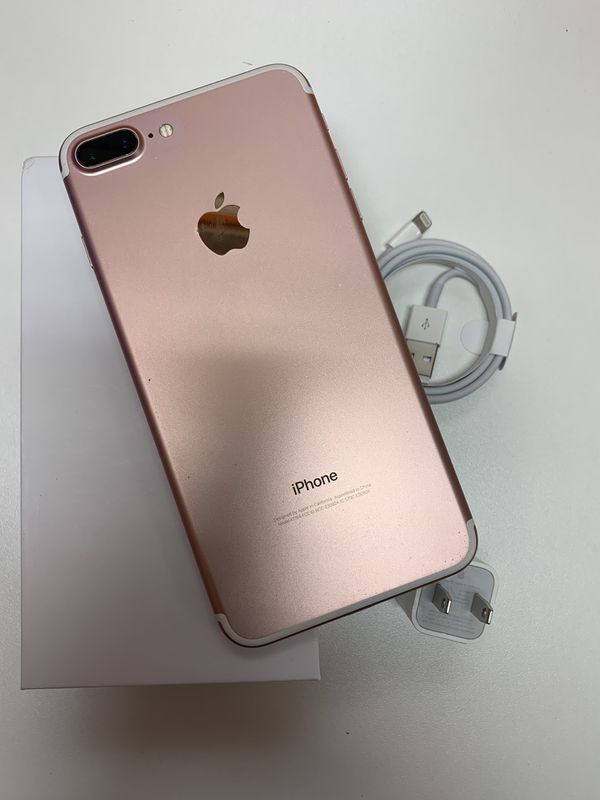 Apple iphone 7 plus works with T-Mobile, Metropcs, simple mobile, lyca, ulta mobile, go smart, straight talk , famaily mobile and others