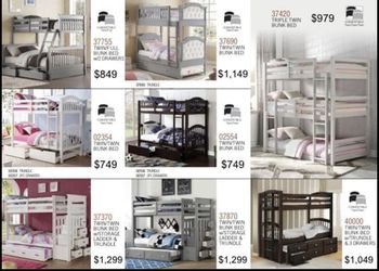 Twin Full Queen Bunk Beds / Literas Specials. NO CREDIT CHECKS, PAYMENTS AVAILABLE. for Sale in Escondido,  CA