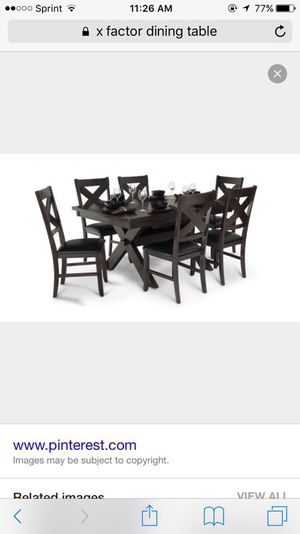 Bobs X factor 7 price dining set for Sale for sale  Staten Island, NY