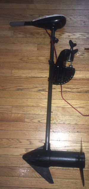 Trolling motor 50lbs thrust. 3 reverse speed 5 forward extendable handle for boat or kayak for Sale in Westville, NJ