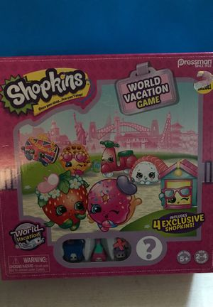Shopkins world vacation Gsme for Sale in Orangevale, CA