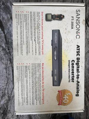 Converter box for Sale in Show Low, AZ