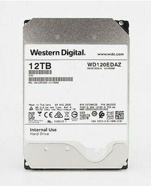 WD 12TB SATA III 5400RPM 3.5-Inch 256MB Cache Internal Hard Drive WD120EDAZ for Sale in Puyallup, WA