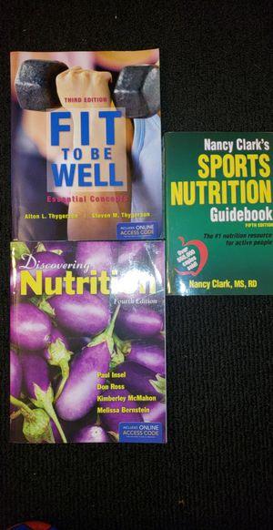 Nutrition Book Bundle for Sale in Atlanta, GA