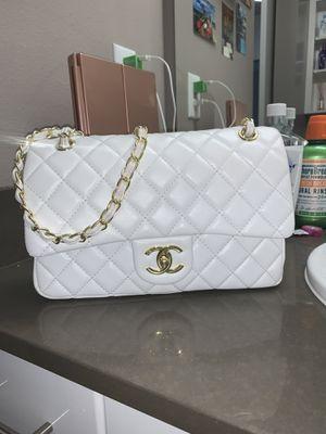 Chanel Jumbo double flap bag in white for Sale in Seattle, WA