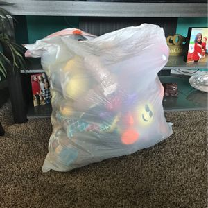 Bag Of Plushies/toys for Sale in Ontario, CA
