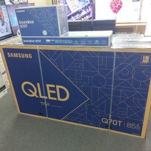 "85"" SAMSUNG QLED Q70T 4K HDMI 2.1 UHD QUANTUM SMART TV for Sale in Fontana, CA"