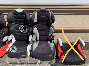 Child booster seats. Pick anyone for 10 bucks each. My son is no longer using them. for Sale in Pacifica, CA