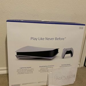 Sealed *PS5* Disc Edition With Controller for Sale in McKinney, TX