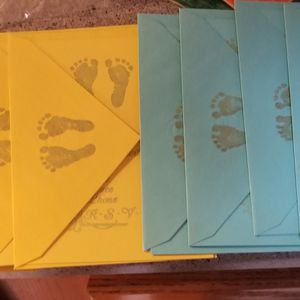 Nine Baby Shower Invites With Matching Envelopes for Sale in Appleton, WI