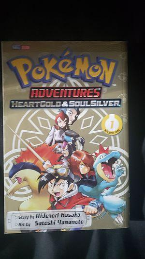 Pokemon Heartgold & Soulsilver manga volume 1 for Sale in Belmont, MA