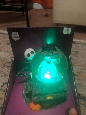 Diamond select Disney The nightmare before Christmas light up waterglobe that also plays music from the movie for Sale in Torrance, CA