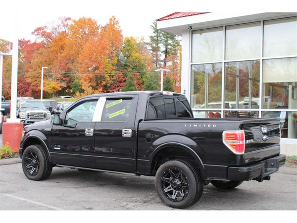 2014 Ford F-150 4WD SUPERCREW LIMITED LOW MILES ALL THE OPTIONS