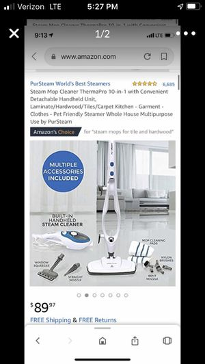 Steam Mop Cleaner for Sale in Bakersfield, CA