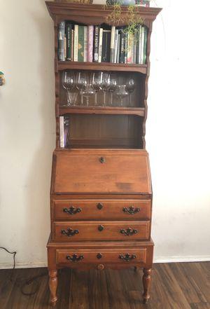 Antique 6ft Secretaire Drop Front Desk for Sale in San Diego, CA
