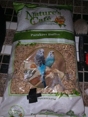 Parakeet Buffet Natures Café 20lb bag only $15....... for Sale in Milton, WA