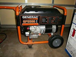 GENERAC GP5500 generator like new used only tested FIRM PRICE for Sale in Baltimore, MD
