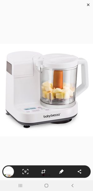 Babybrezza Food steamer and bleander with glass cup. for Sale in Cary, NC