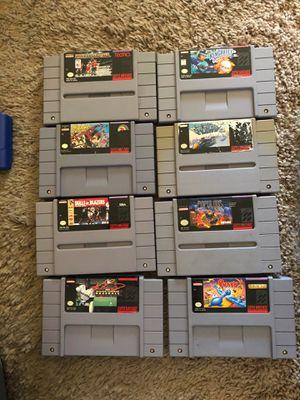 Super Nintendo game lot for Sale in Redlands, CA