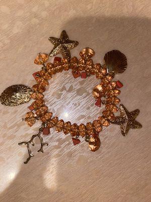 Swarovski sea themed crystal charm bracelet for Sale in Brooklyn, NY