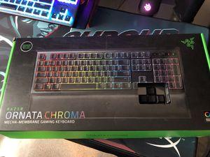 Razer Ornata Chroma   Mecha-Membrane Gaming Keybord for Sale in Hackett, AR
