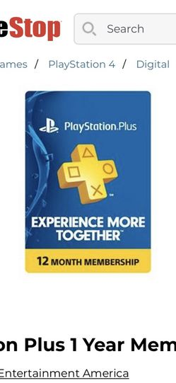 playstation plus for Sale in St. Louis,  MO