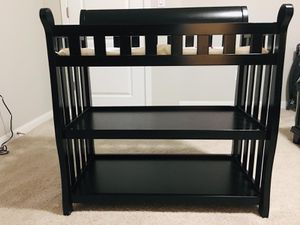 Wooden Diaper changing table in excellent condition for Sale in Mill Creek, WA