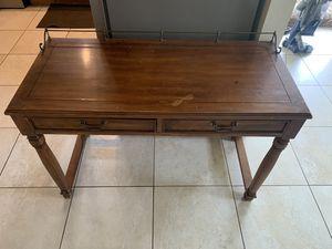 Antique wood office desk for Sale in Carol City, FL