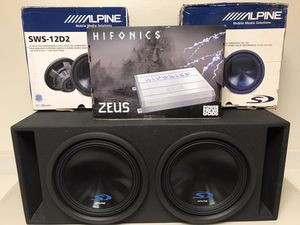 """Subwoofers 12"""" for Sale in Chula Vista, CA"""