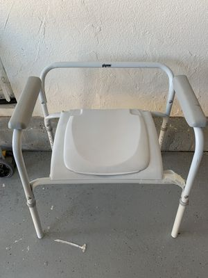 Raised Toilet Seat and Safety Frame for Sale in San Diego, CA