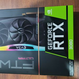 EVGA GeForce RTX 3080 FTW3 ULTRA GAMING, 10G-P5-3897-KR, 10GB GDDR6X, iCX3 Technology, ARGB LED, Metal Backplate for Sale in Fort Lauderdale, FL