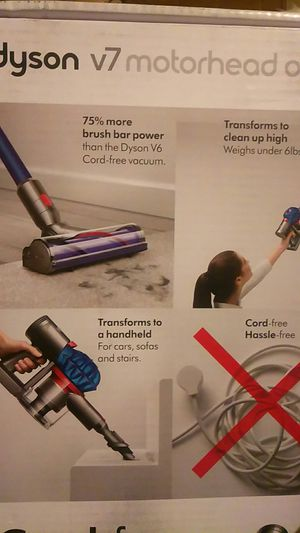 Dyson V7 Cordless Motorhead for Sale in Parkland, WA