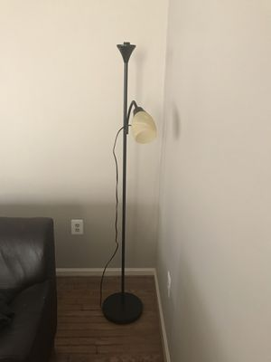 Floor lamp with reading light for Sale in Sterling, VA