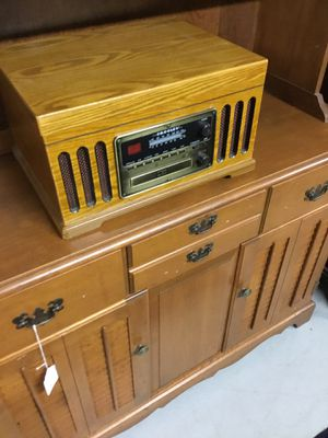 Wooden radio w/record player and c/d (have 5 different ones sold separately) for Sale in Rehoboth, MA