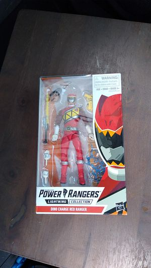 Saban's Power Rangers Lightning collection Dino Charge Red Ranger Action Figure for Sale in Las Vegas, NV
