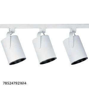 Progress Lighting Alpha Trak Collection 3-Light White Track Lighting Kit for Sale in Dallas, TX