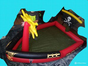 Pirate ship inflatable boat for Sale in Fort Worth, TX