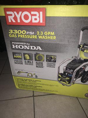 Brand new ryobi pressure washer 3300psi for Sale in Franklin Park, IL
