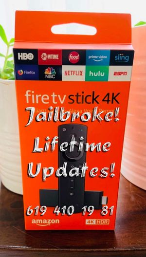 New 4K Fire TV Stick (Unlocked) for Sale in Chula Vista, CA