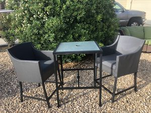 Bar Height Outdoor Table & Chairs for Sale in La Mesa, CA