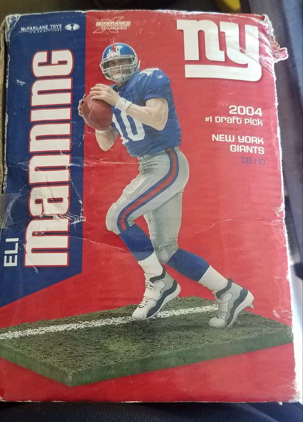 NFL Manning Brother's Collector Action Figures