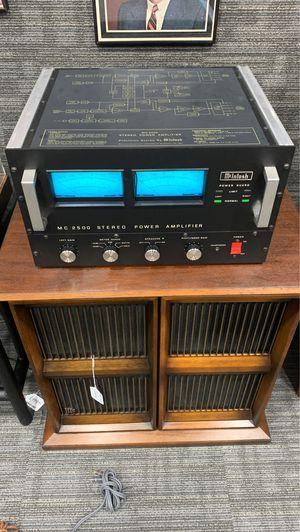 McIntosh MC-2500 Stereo Power Amplifier for Sale in Phoenix, AZ