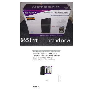 Netgear router box for Sale in Akron, OH