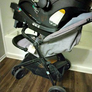 Even flowers Stroller And Car Seat for Sale in Ontario, CA
