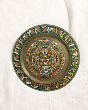 Bronze Aztec Calendar for Sale in Hacienda Heights, CA