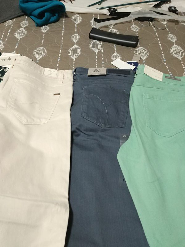 5 new pants size 12