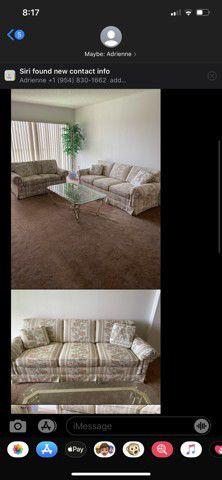 Thomasville living room set pompano beach for Sale in Pompano Beach, FL