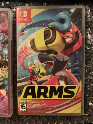 Arms for Nintendo Switch for Sale in Yardley, PA
